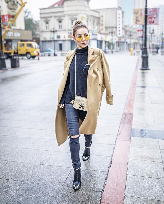 And I made it to Tianjin, China, my hometown! via NotJessFashion notjessfashion ootd