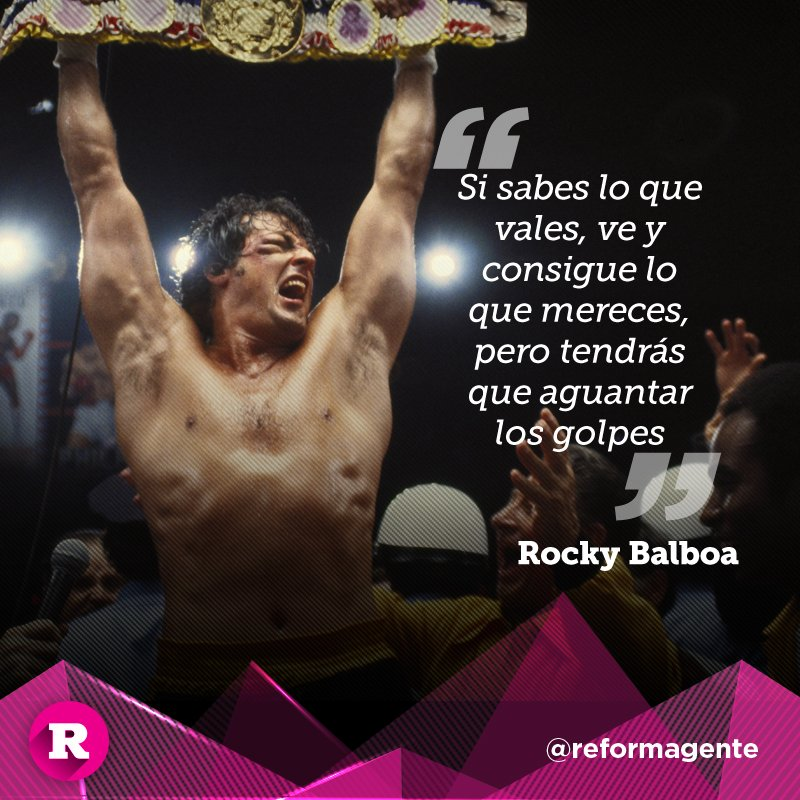 Rocky Balboa Frases A Su Hijo Frase De Amor