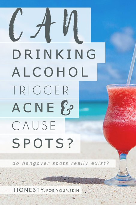 Are Alcohol Spots an Actual 'Thing'? bbloggers SundayBlogShare