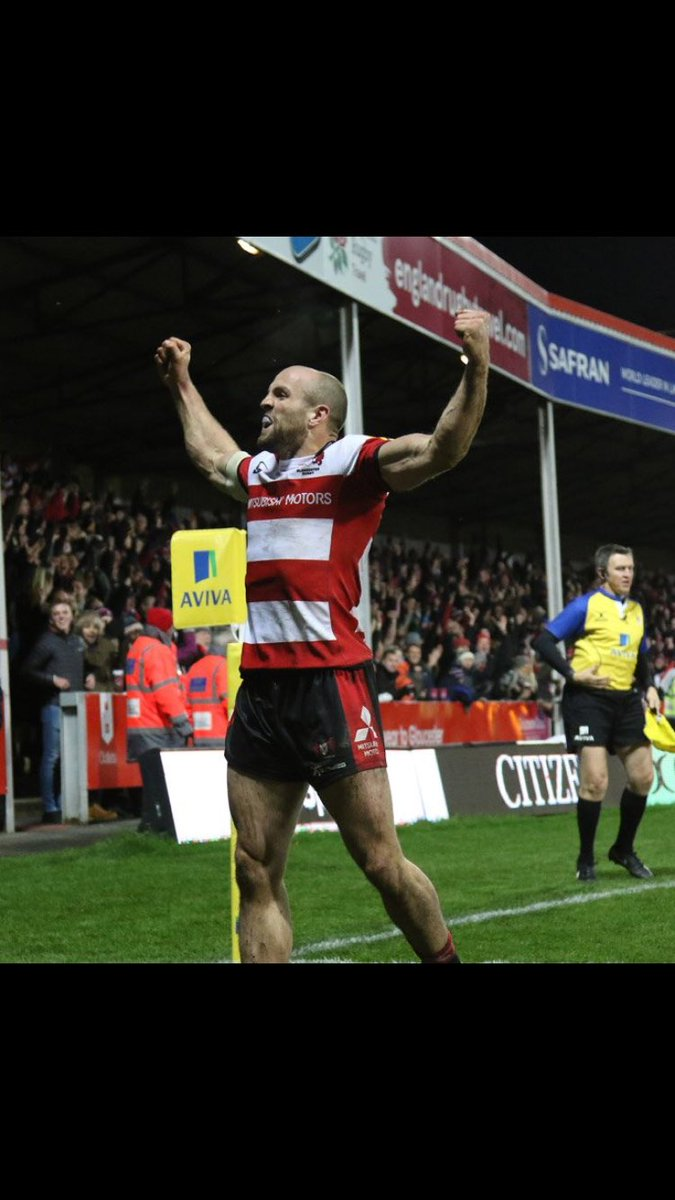 Loved getting the win yesterday at Kingsholm! Crowd were amazing! Big week ahead now. https://t.co/CMcMBaULba