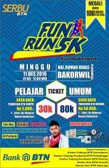 Serbu BTN Fun Run ~ 2016