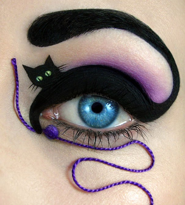 Stunning Eye Makeup Art