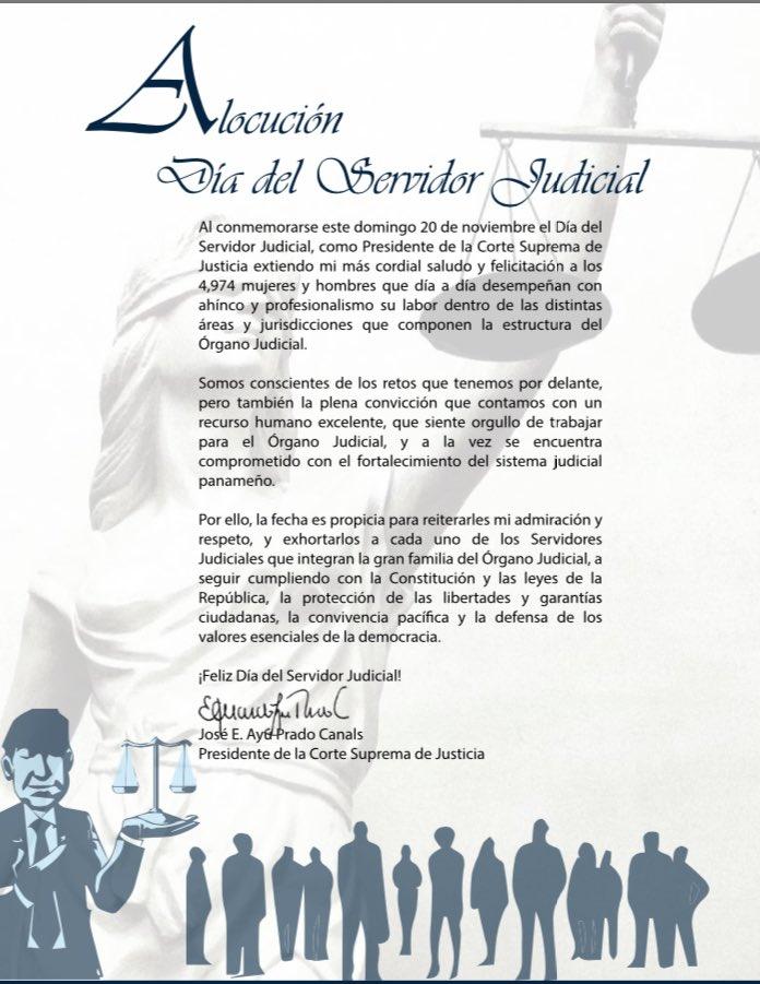Ojudicialpanamá On Twitter Feliz Día Al Servidor Judicial