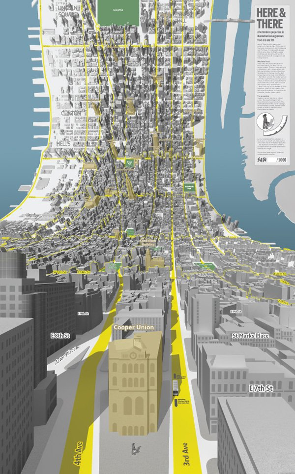 Klaus On Twitter Here And There A Horizonless Projection In Manhattan Uptown Vs Downtown Https T Co Vgws9aqh89 Architecture Drawing Via Oniropolis Https T Co Jbvoyifmd1
