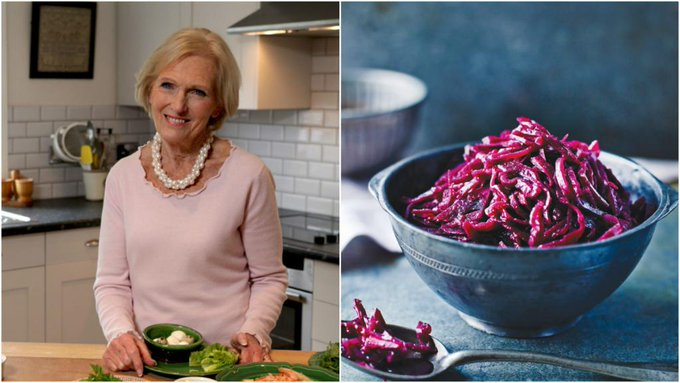 Mary Berry's recipe for red cabbage