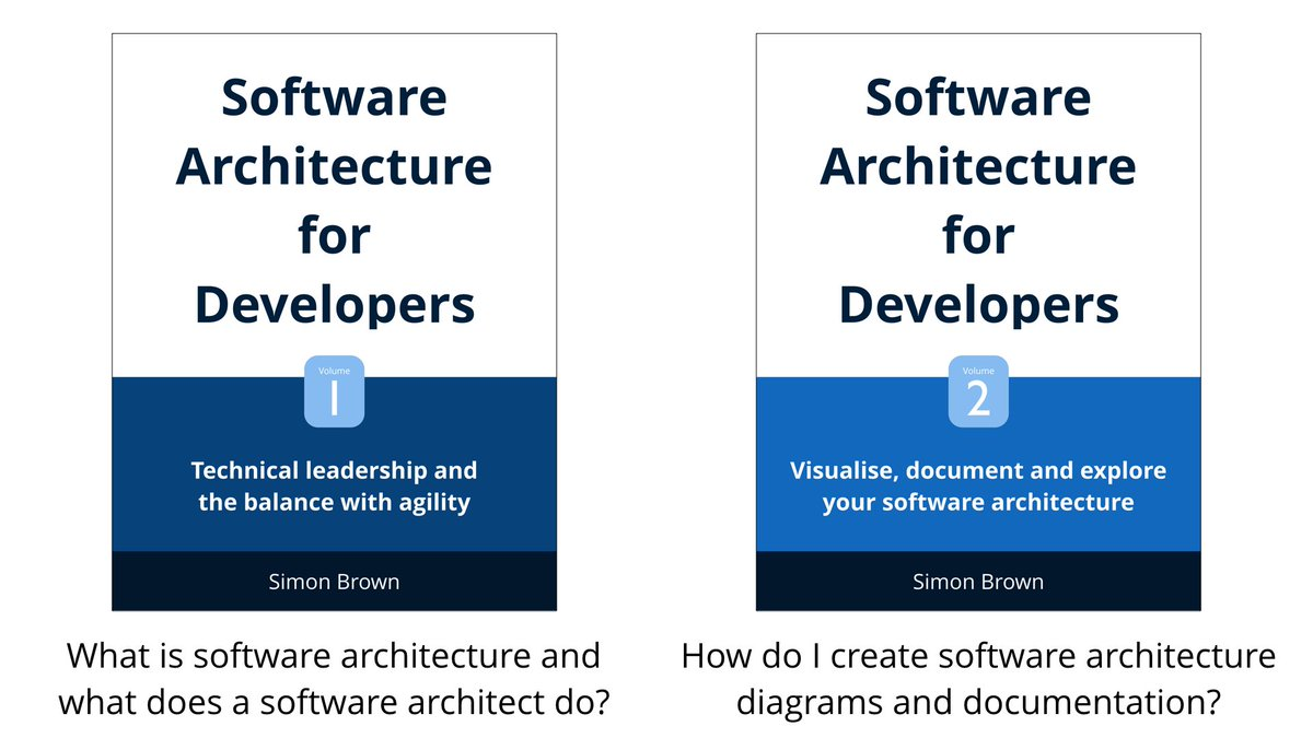 As an experiment, both of my software architecture books are currently FREE on Leanpub -> https://t.co/7nTbANCABI https://t.co/K2ECekM7HK