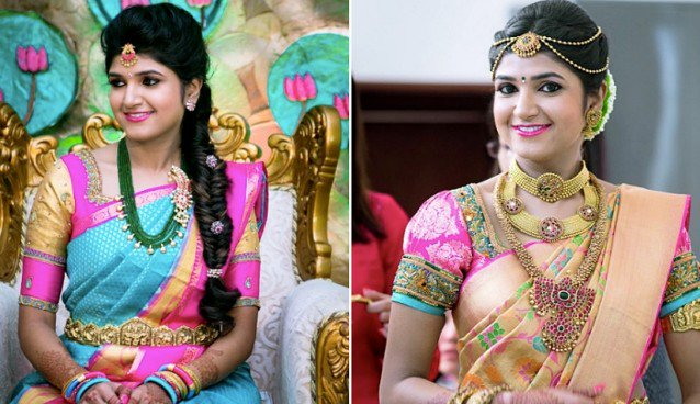 South Bridal Fashion On Twitter South Indian Bridal Makeup