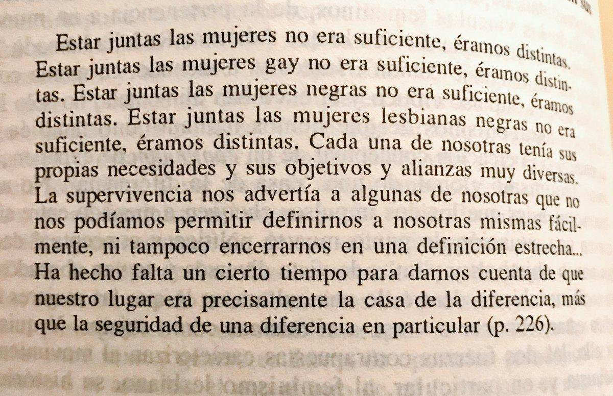 Las diferencias :) #teresadelauretis #diferencias #feminismo 🙌🏻