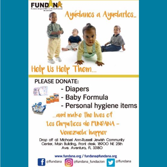 Puedes apoyar a Fundana con tus donaciones . Escríbenos fundana@fundana.org y hazte padrino de un chiquitico. #doma https://t.co/gx0bkldHYD