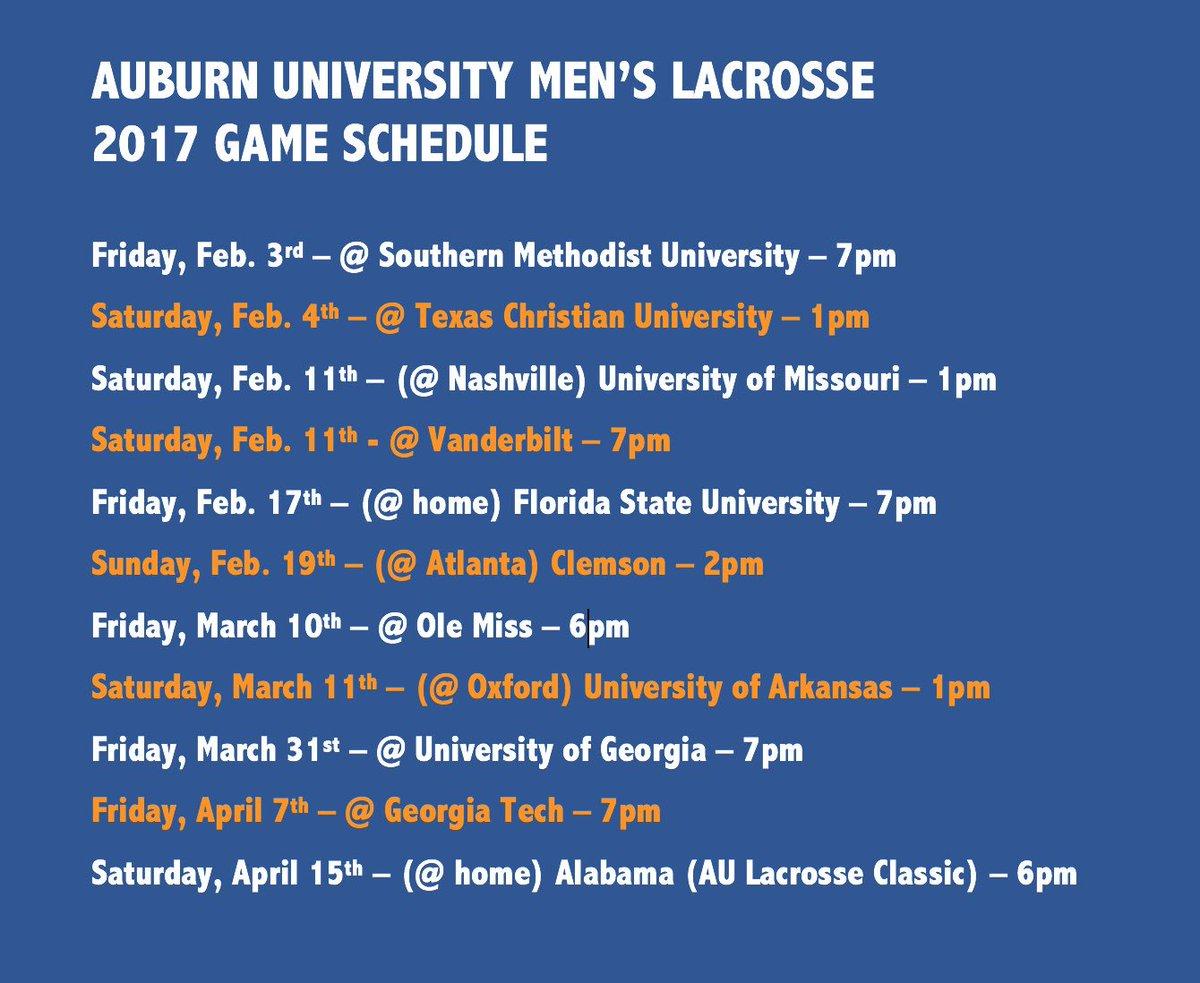 Auburn Lacrosse on Twitter: