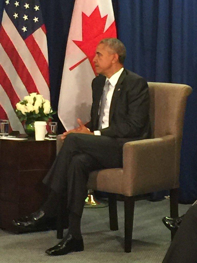 Trudeau says he will miss Obama. #APEC2016 #cdnpoli #hw https://t.co/qcZDLLHofC