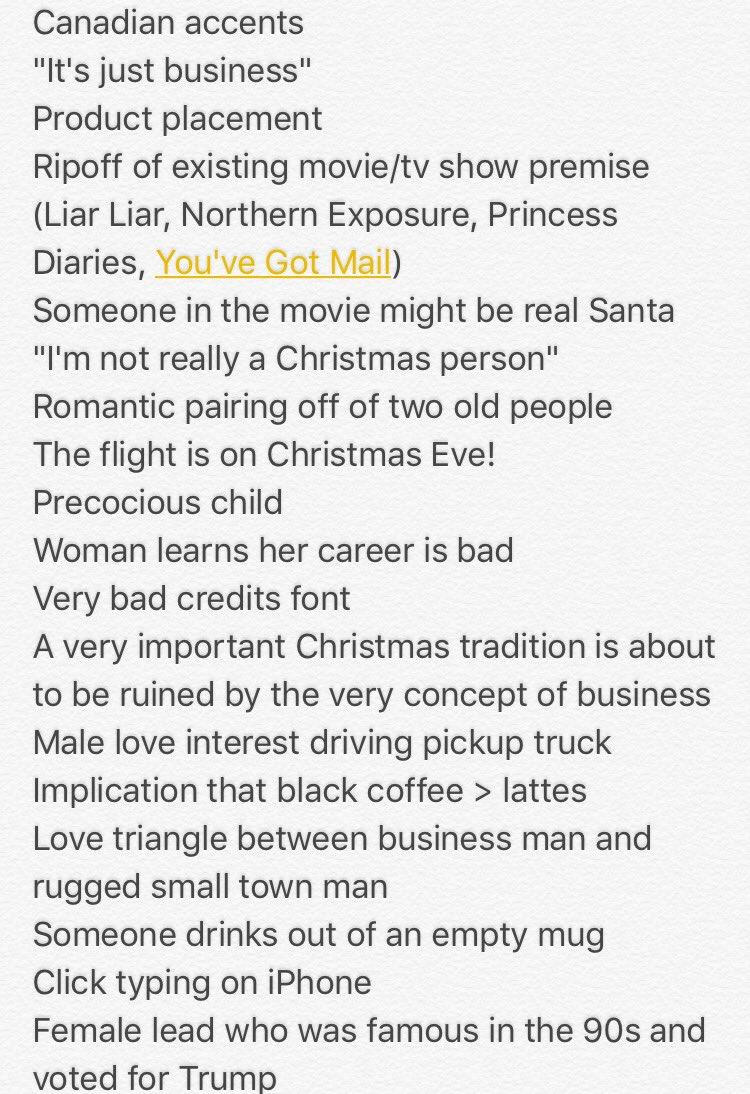 Play my @hallmarkchannel Christmas Movie...
