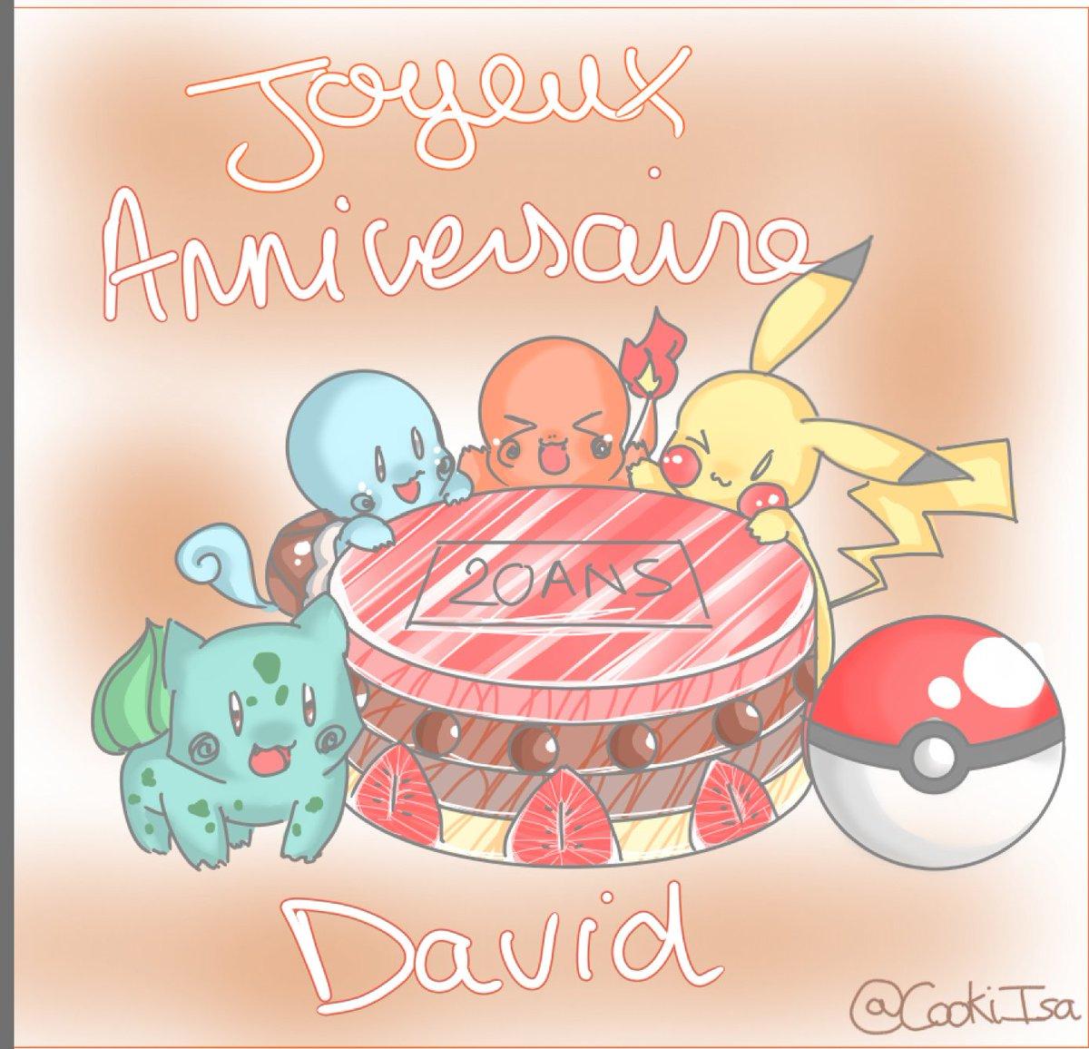 Taekookiisa On Twitter Joyeux Anniversaire David Le