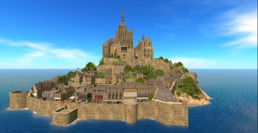 Mont Saint Michel Region Returns In Second Life https://t.co/uZ6GvYwgcH https://t.co/MSThiCpK2V