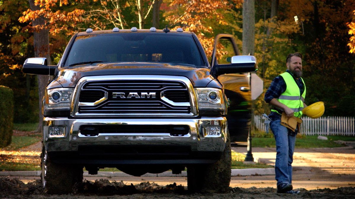 You know Ram Trucks are all about hard work. But did you know we could work it? #AMAs #GutsGloryRam https://t.co/m2SMYVN4qO