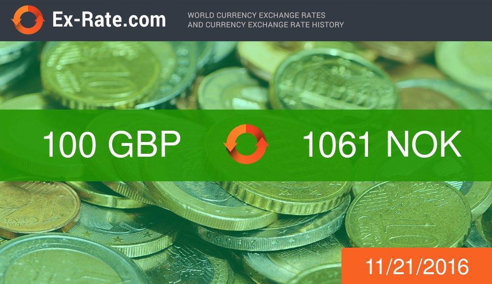 276090 GBP in NOK - British pound £ to Norwegian krone kr