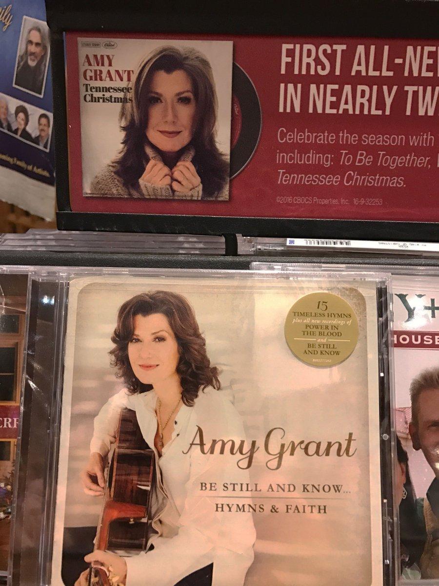 Amy Grant New Christmas Album.Amy Grant On Twitter Love That Crackerbarrel Has My New