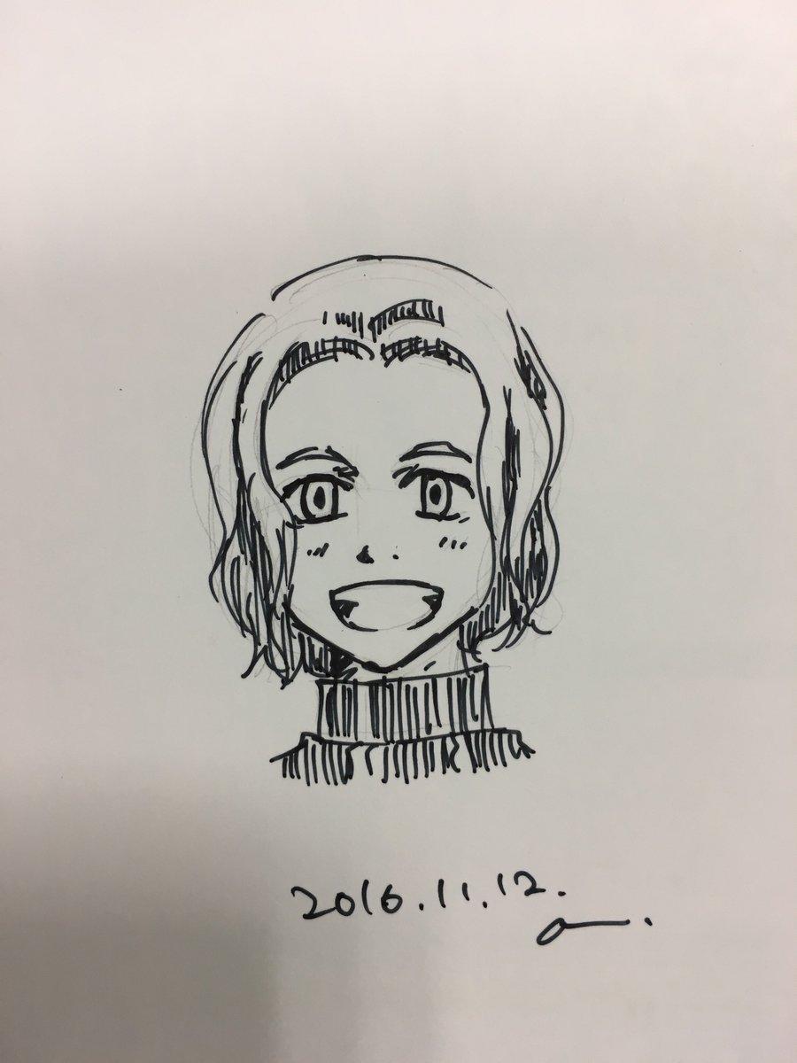 こんにちは。三省堂書店大宮店です。KADOKAWAさんからこちらのデータ使っていいよ\(^o^)/といただきました☆『青春鉄道2017年度版』のサイン本のイラストです~♪(その3) https://t.co/6hgyN0KR4x
