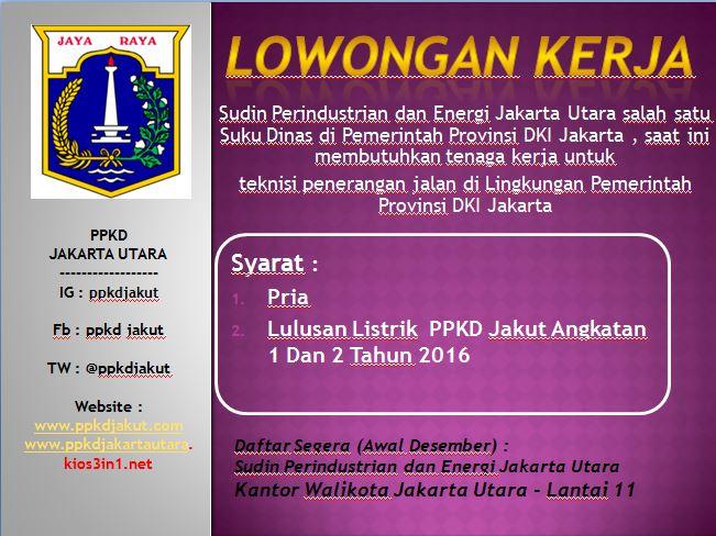 Ppkdjakut در توییتر Lowongan Kerja Khusus Alumni Ppkd Jakarta