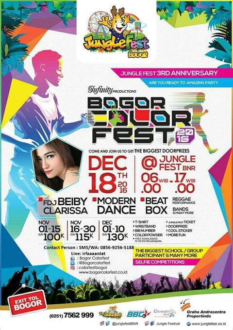 Bogor Color Fest ∙ 2016