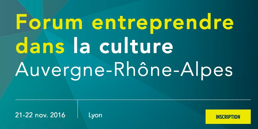 Forum Entreprendre dans la culture en région @auvergnerhalpes par @LiveNacre @arald_fr https://t.co/Y0IZBxR3Gy #entreprendredanslaculture https://t.co/ZLPYuM9rco