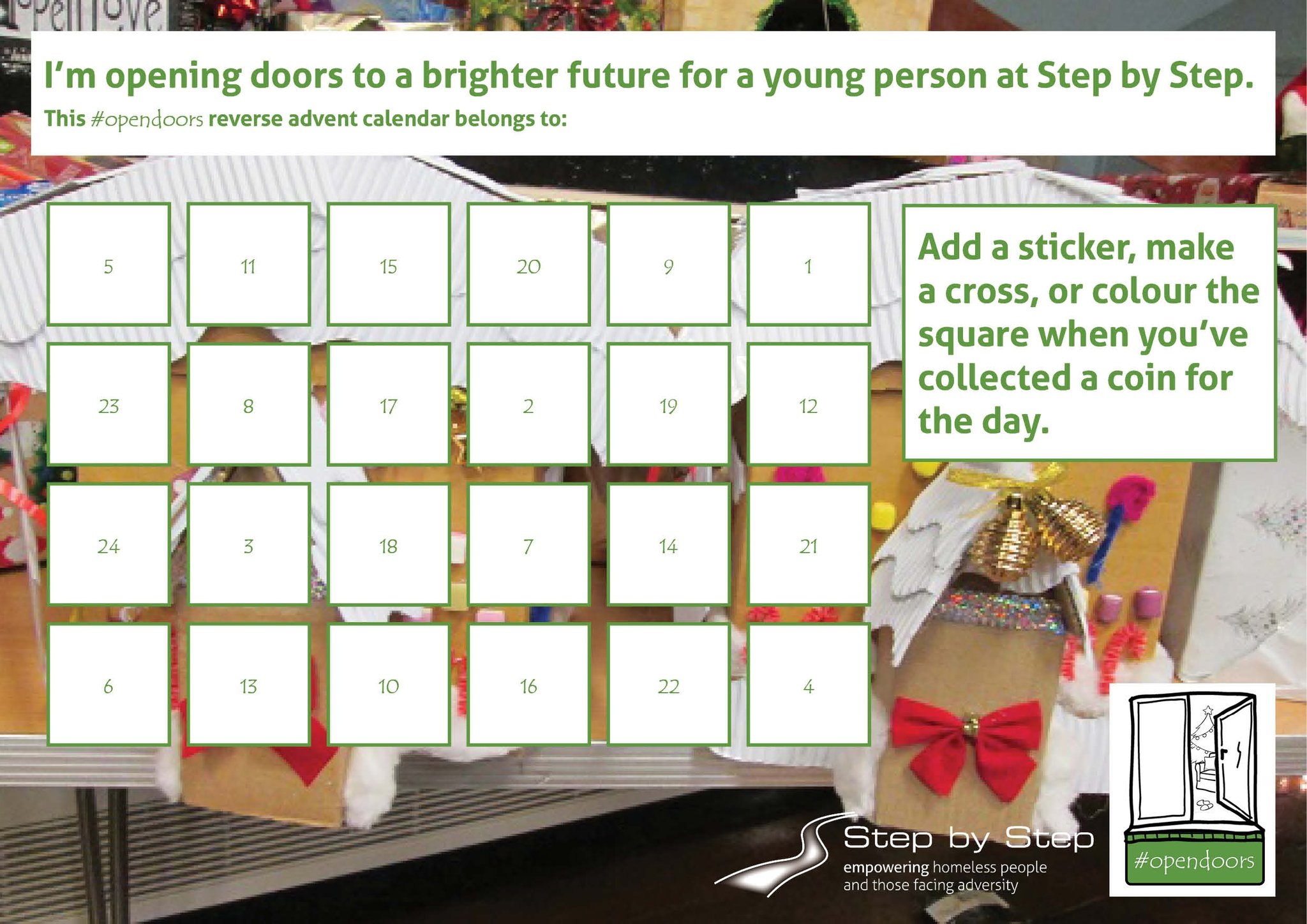 Did you all open your #Advent calendar this morning? Help us #OpenDoors to 229 young people this Christmas: https://t.co/KCPXtJ2xwo https://t.co/4DKCboFkCi