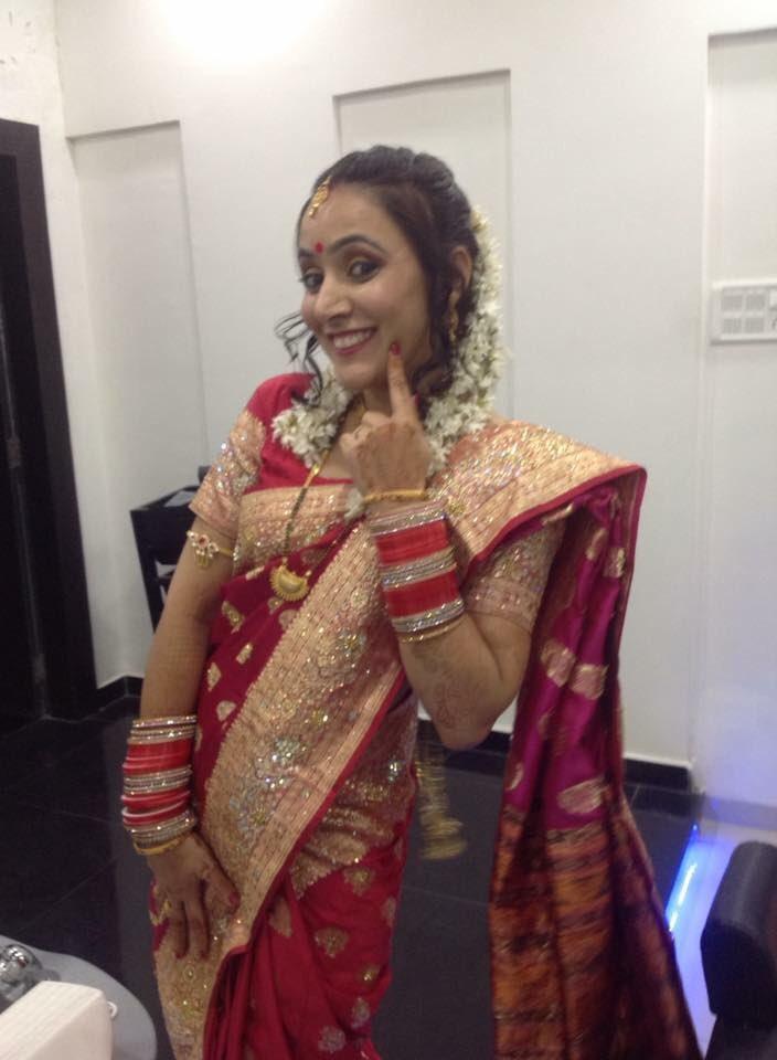 Bridal Hairstyle For Maharashtrian Wedding