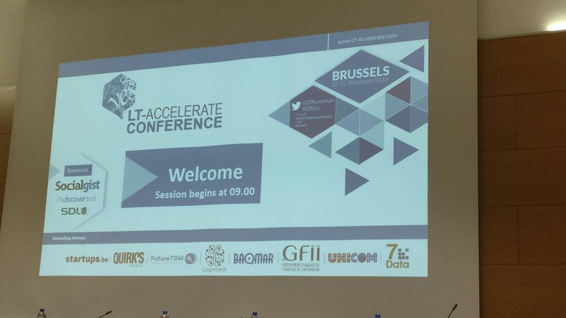 @LTaccelerate about to start #lta16 Welcome to all! https://t.co/oGwUi8WUJ7