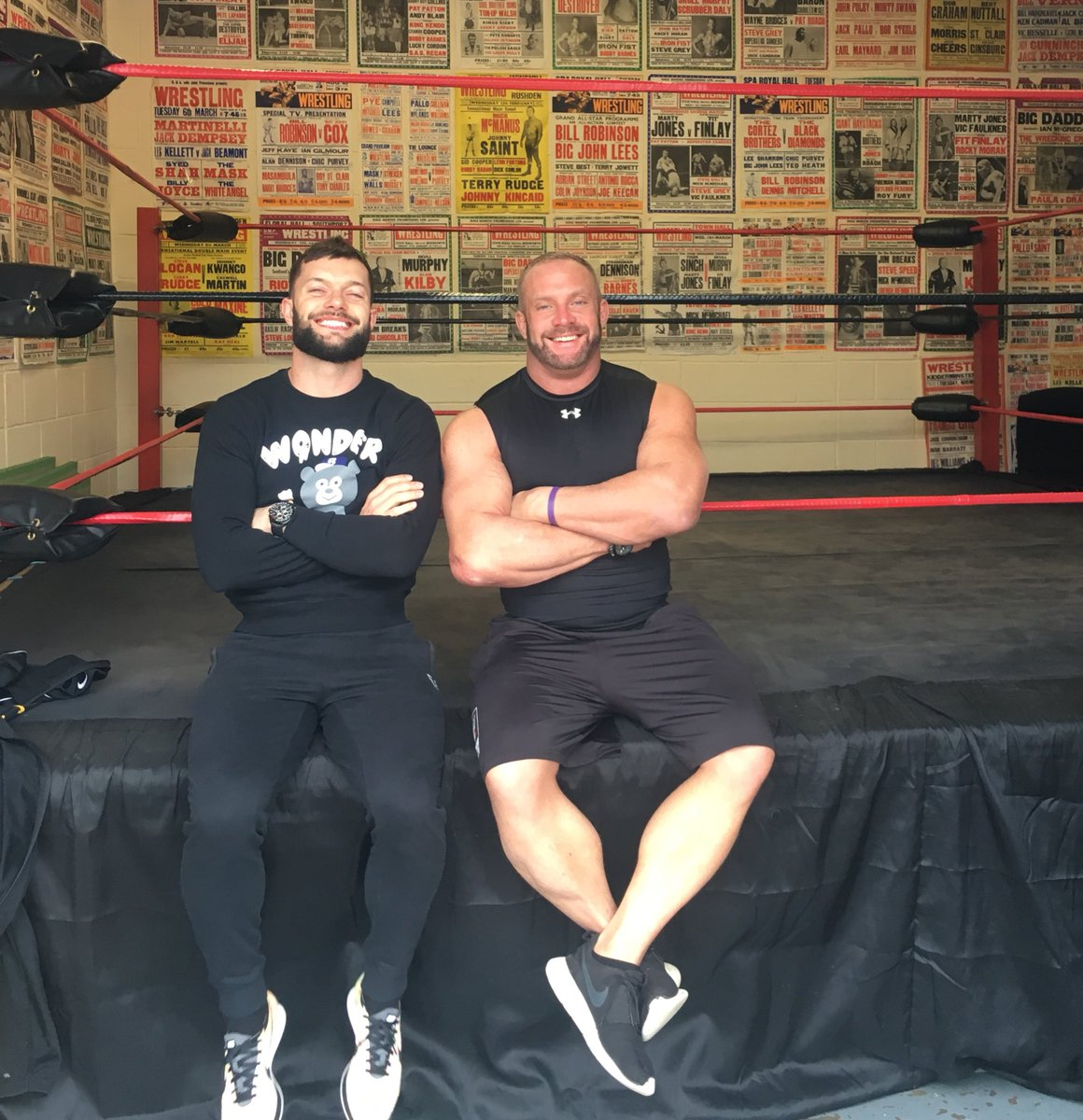 A real treat to play host to my old pal @FinnBalor today....so many great memories https://t.co/ti1LzqKsky