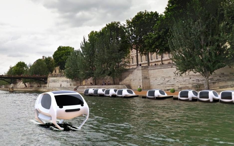 Flying River Taxis Eye Customers From the Seine to San Francisco