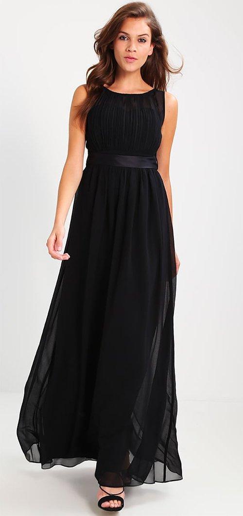 Robe de soiree fluide noire