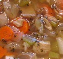 Turkey-Vegetable Soup