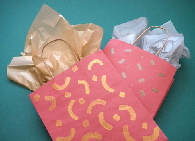 A DIY Gift Bag Idea