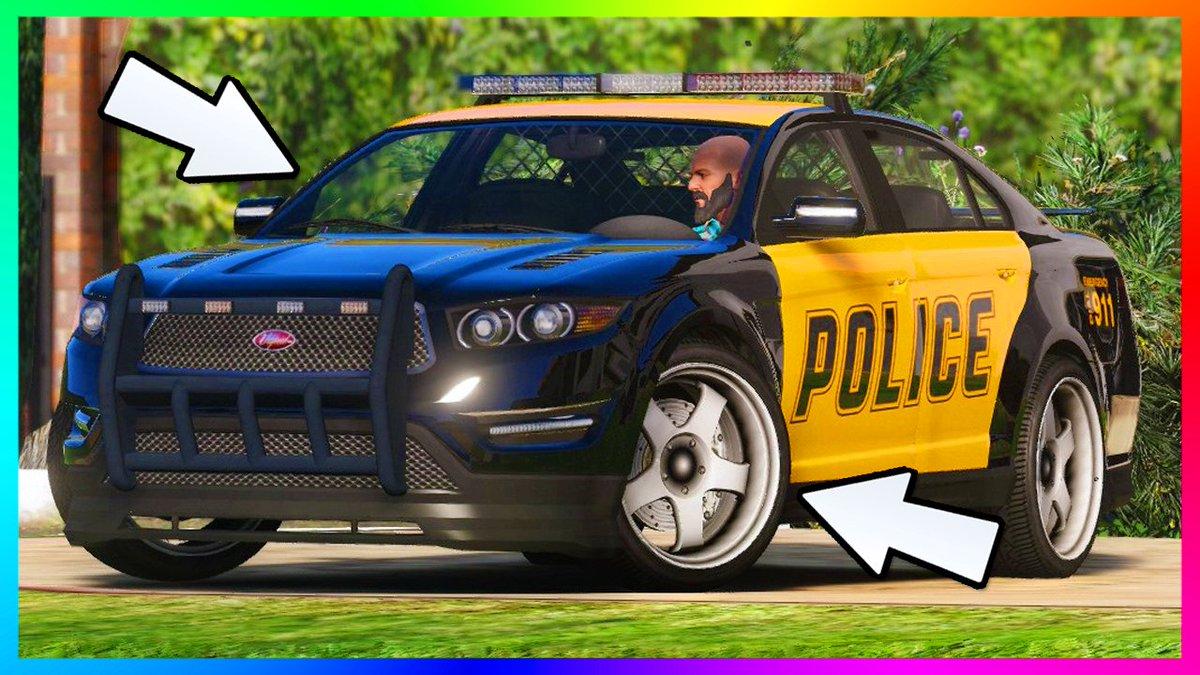 Ross On Twitter Secret Gta 5 Police Car Customization Hidden