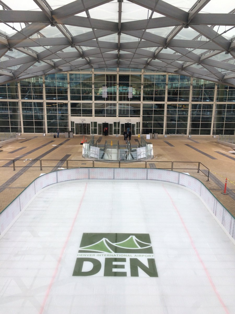 This US airport will open an ice skating rink for the holiday season