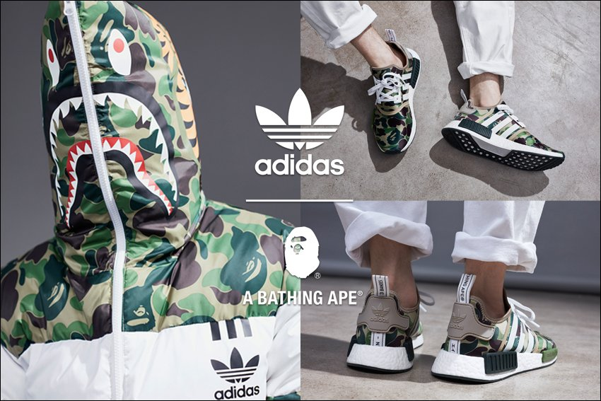 adidas Originals by BAPE® coming soon! https://t.co/I9Ow57YX7x https://t.co/nrgryGg0RN