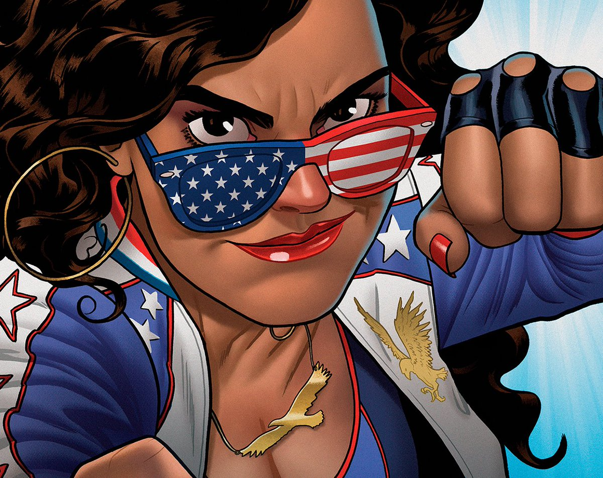 Miss America Chavez takes control of her own series by @QuirkyRican and @Joe_Quinones: https://t.co/wmNrzpcNWA https://t.co/EariQn32aW