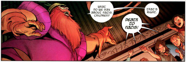 For a Norse god, Volstagg knows the score. https://t.co/MF1eB0muNE