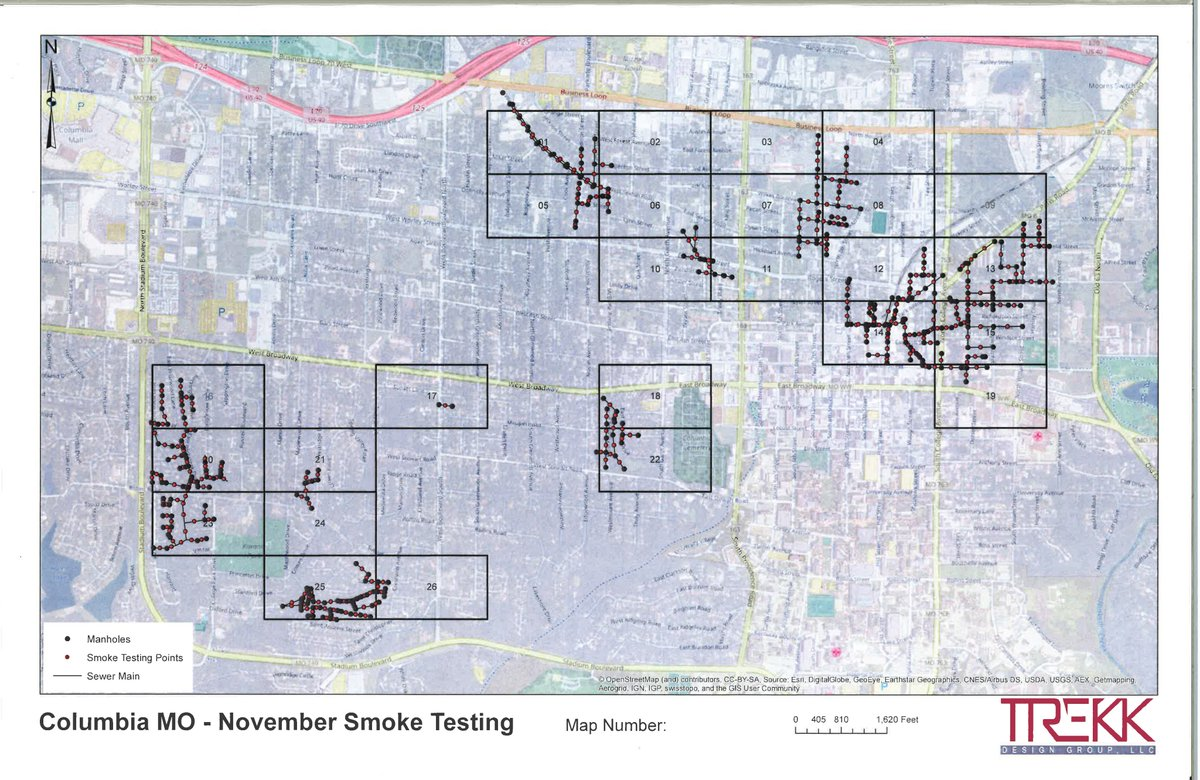 City Of Columbia Mo On Twitter Sewer Line Smoke Testing