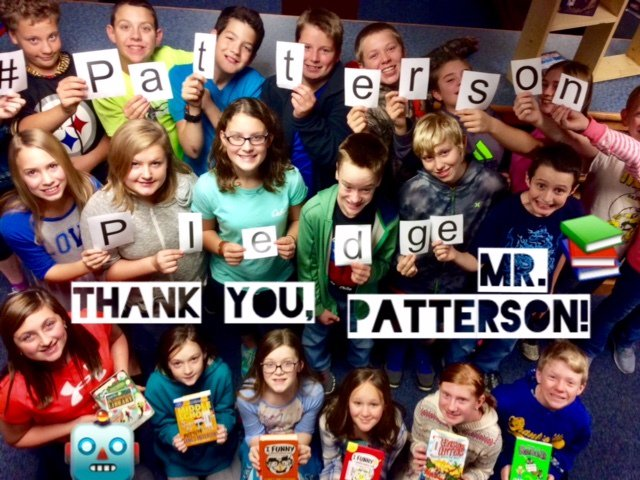 Thumbnail for Scholastic Reading Club: Patterson Pledge 2016