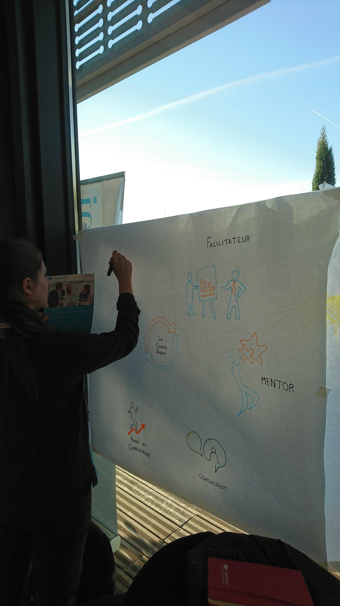 @capgeminifrance #CoachAgile #scribing @AgileTourSophia https://t.co/DNd3eGR4RS