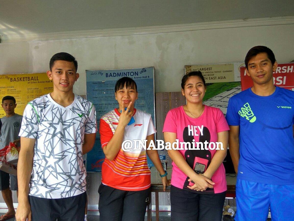 "BADMINTON INDONESIA on Twitter ""Muhammad Rian Ardianto Gabriela"