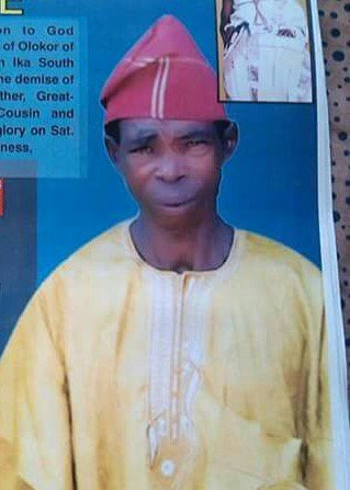 Obituary: Punchman loses father - A community leader and one of the strong pillars of OLOKOR dynasty, Pa Augustine Okunoja Olokor is dead.