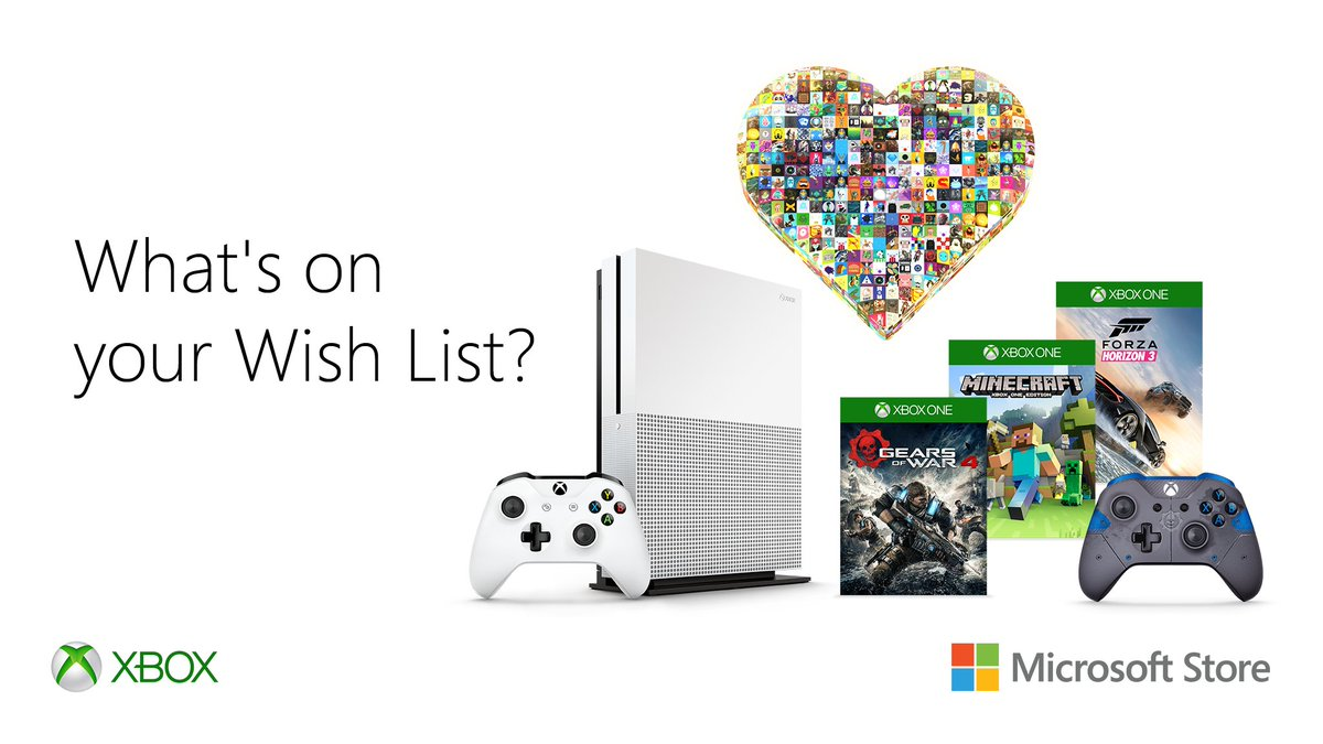 Make your #XboxWishList at https://t.co/AdmIkv6Mrh and share for a chance to win it. https://t.co/WBxBxa447E