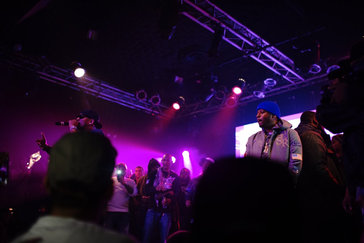 .@VADO_MH & @Mr_Camron performing at #killaseason2 at @HighlineB. https://t.co/gdE3QZeXCP
