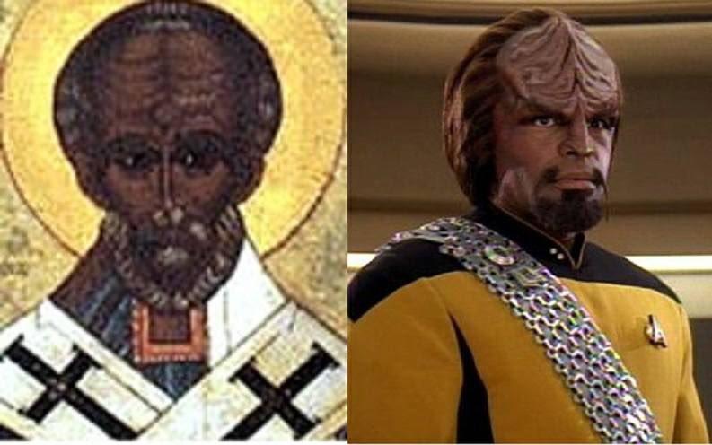 Happy St Nicolas Day - our only Klingon saint. https://t.co/J85Cx5phmo