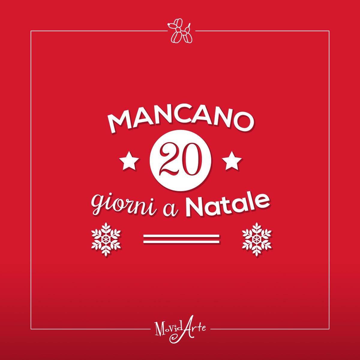 Countdown Natale.Movidarte On Twitter Mancano Solo 20 Giorni A