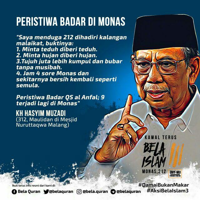KH. Hasyim Muzadi tentang Aksi Damai 212 #AksiDamai212 https://t.co/NIJDQFiveP