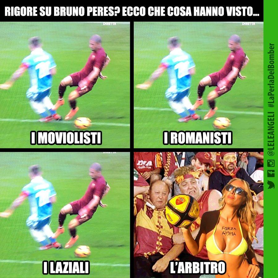 Vignette divertenti sul Derby Lazio-Roma