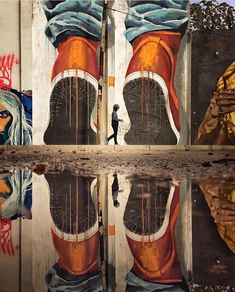 Street Art by Manumanutwice   #art #mural #graffiti #streetart